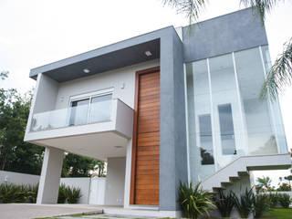 모던스타일 주택 by d´ Ornellas Arquitetura e Construção 모던