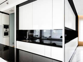 mieszkanie prywatne 3 pokoje - Nowe Orłowo - Gdynia : styl , w kategorii Kuchnia zaprojektowany przez Anna Maria Sokołowska Architektura Wnętrz ,Nowoczesny