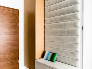 mieszkanie prywatne 3 pokoje - Nowe Orłowo - Gdynia : styl , w kategorii Korytarz, przedpokój zaprojektowany przez Anna Maria Sokołowska Architektura Wnętrz