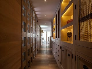Pasillos y vestíbulos de estilo  de JR Arquitectos