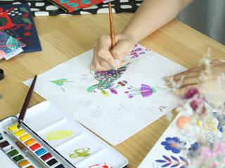 Artist/Illustrator/Designer LUNA by 말랑루나(MallangLuna)