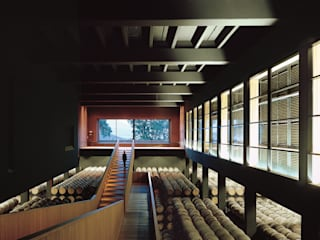 Campo Viejo Winery - Juan Alcorta Winery Ignacio Quemada Arquitectos Винні підвали Дерево Чорний