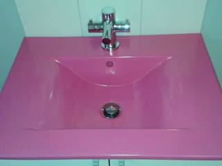 Nowa Droga W Standardach BathroomSinks Pottery Pink