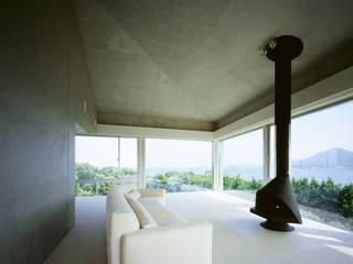 北側全景3: Guen BERTHEAU-SUZUKI  Co.,Ltd.が手掛けた和室です。