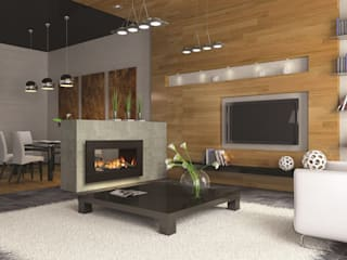 CHIMENEAS JAHEZA Living roomFireplaces & accessories