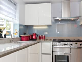 Contemporary Kitchen in Huddersfield at Bradley Modern Mutfak Twenty 5 Design Modern