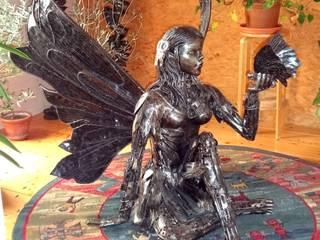 Skulpturen:   von Recycleart.ch GmbH