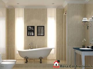 Foto Intervista: Bagno in stile in stile Minimalista di Rera Costruzioni s.r.l.