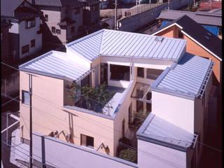 外観全景: Guen BERTHEAU-SUZUKI  Co.,Ltd.が手掛けた家です。