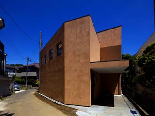 Maisons originales par 株式会社廣田悟建築設計事務所 Éclectique