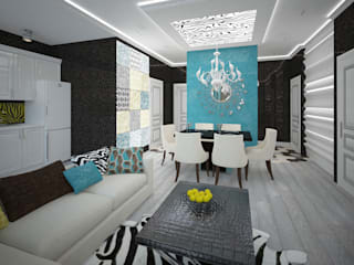 Living room by Decor&Design, Eclectic