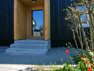 Eingangsportal:   von Architekten Ingenieure Haas+Haas