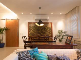 Apartamento IR: Salas de jantar  por Rede Arquitetos