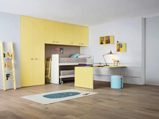 Nidi ChambrePenderies et commodes Jaune