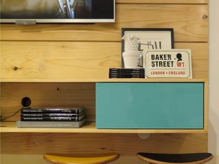 Livings de estilo minimalista por Rede Arquitetos