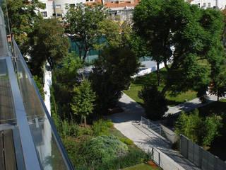 Jardines modernos de Ceregeiro-Arquitectura Paisagista Moderno