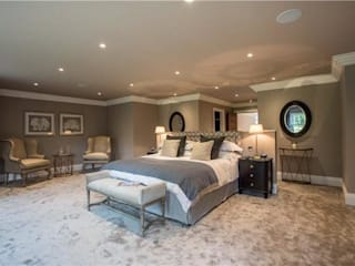 Ascot Luxury Home Quirke McNamara Modern style bedroom