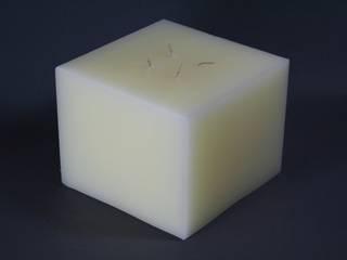 Mehrdochtkerze, Kerze, 4 Dochte:   von Polarlichter-Kerzen