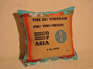 Coussins thème Vietnam, par MATANA CREATIONS Éclectique