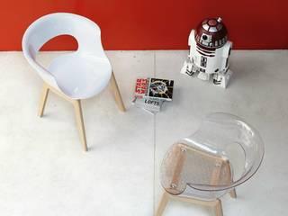 homify 餐廳椅子與長凳