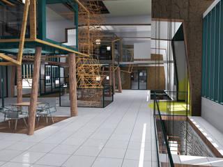 Restaur'Art Salle à manger originale par Akele Corporation Éclectique