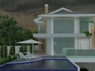 Residência João Paulo: Casas  por ANNA MAYA ARQUITETURA E ARTE
