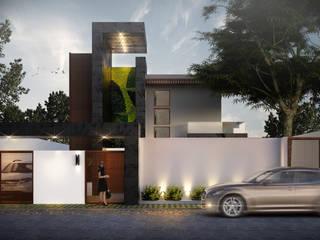 Modern houses by AP studioarq Modern