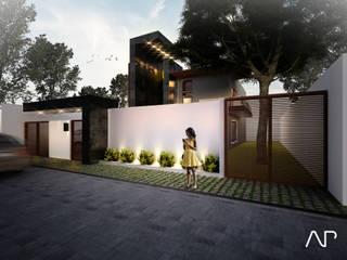 Moderne huizen van AP studioarq Modern