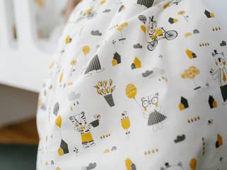 Hipster Bear tissus:  de style  par Véronique Petit Designer Textile
