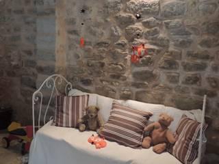 """Mobile """"Le corbeau et le Renard"""" LE BAL DES FEES Chambre d'enfantsAccessoires & décorations Textile Orange"""