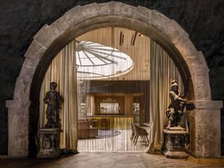 """""""KUNO 1408"""" STERNE RESTAURANT REBSTOCK WÜRZBURG: modern  von Architekten Ingenieure Haas+Haas,Modern"""