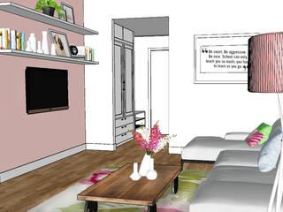 Salón : Salones de estilo  de decoración patri-blanco