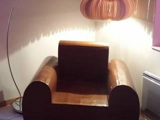 Lampe design en carton:  de style  par Pti Choz En Carton