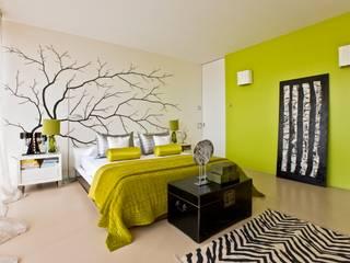 Oriental Chic Dormitorios de estilo ecléctico de Viterbo Interior design Ecléctico