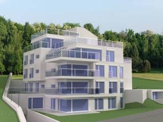 Wohnhaus Glanzing:  Häuser von uk-architektin