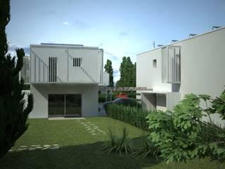LDA_ViaRiviera: Il quartiere essenziale Case in stile minimalista di Laboratorio di Architettura di Lamon Arch. Luciano Minimalista