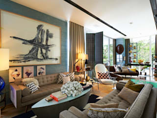 Living room by Viterbo Interior design