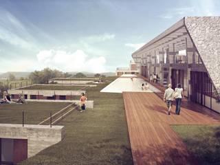 Complejo Turístico Siquiman:  de estilo  por Baldio Arquitectura