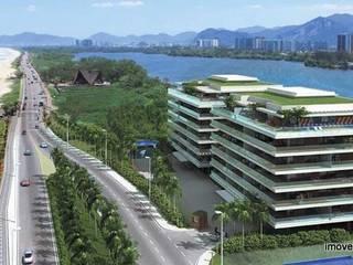 Grand Hyatt Residences - Suítes Residenciais - Barra da Tijuca: Casas  por Imóveis Rio Capital,Tropical