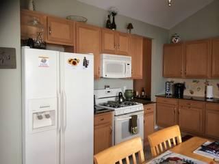 Renovación total de una cocina en New York de Amoblamientos Reno