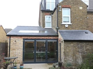 Single Storey Extension, Roxborough Rd London Building Renovation 現代房屋設計點子、靈感 & 圖片