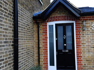 Single Storey Extension, Roxborough Rd London Building Renovation Modern houses Bricks