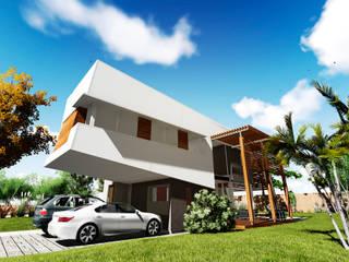 Casa E&M: Casas de estilo  por Módulo 3 Arquitectura