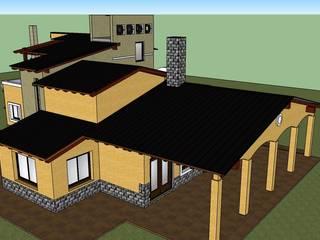 VIVIENDA FAMILIAR MARTINEZ de LE PONT Estudio de Arquitectura e Ingenieria Clásico