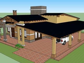VIVIENDA FAMILIAR CRESPILLO de LE PONT Estudio de Arquitectura e Ingenieria Clásico