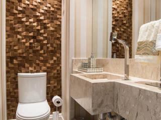 Apartamento decorado Veredas 2 Banheiros clássicos por Renata Neves Clássico