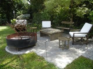 Fainzilber Arqts. Garden Fire pits & barbecues