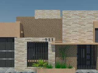 VIVIENDA FAMILIAR MILLAN:  de estilo  por LE PONT Estudio de Arquitectura e Ingenieria