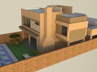 VIVIENDA FAMILIAR MILLAN de LE PONT Estudio de Arquitectura e Ingenieria Minimalista