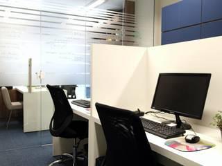 Modern Çalışma Odası Amanda Carvalho - arquitetura e interiores Modern